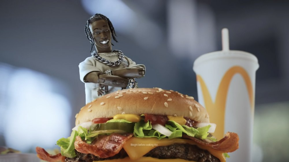 Action Figure Travis Scott X McDonald's