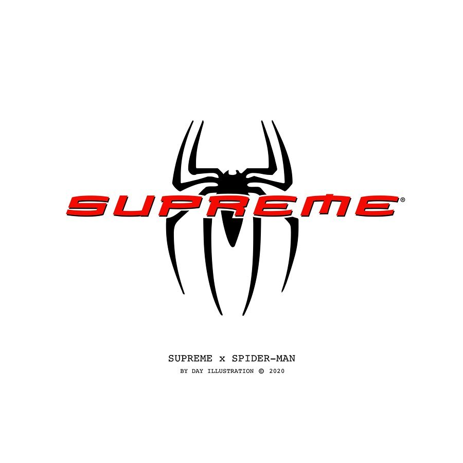 Il logo Supreme ad Hollywood