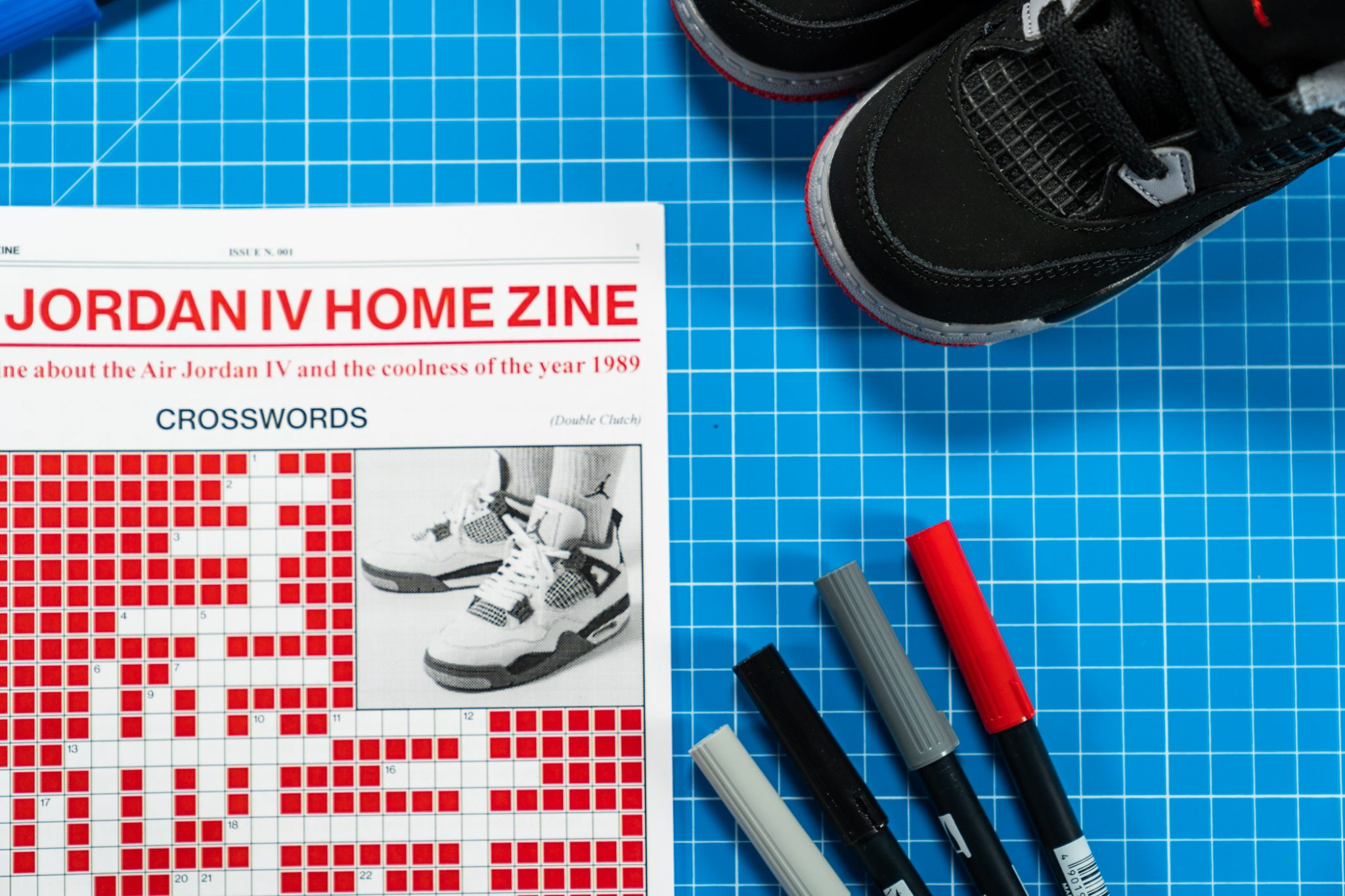 The Jordan 4 Home Zine by Double Clutch
