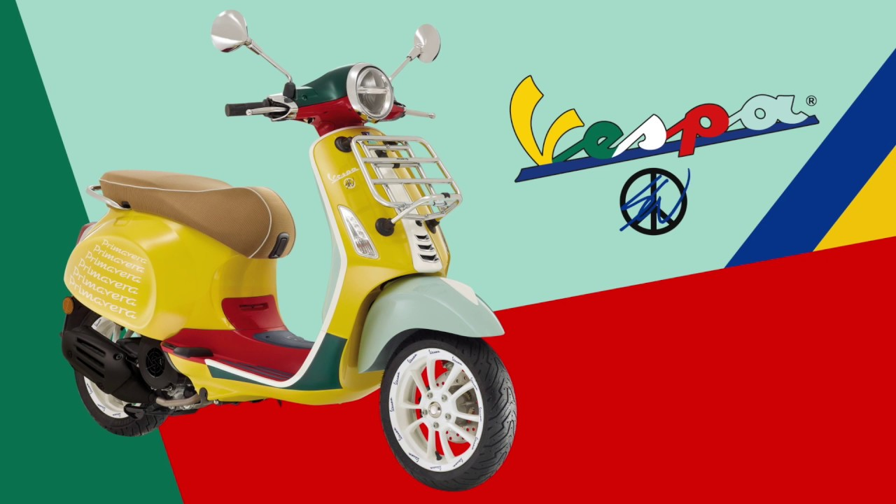 Sean Wotherspoon x Vespa Design Apparel Collection